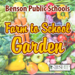 Benson-Farm to School Garden sign